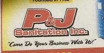 P & J Sanitation Inc